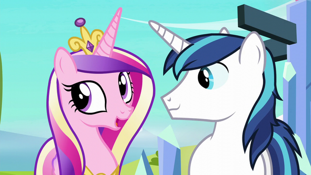 "File:Cadance ""We were thinking"" S6E2.png"