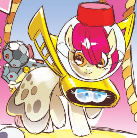 File:Micro-Series issue 7 Apple Bloom silly costume.png