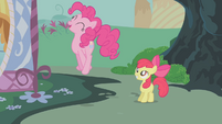 Pinkie Pie jumps high S1E12
