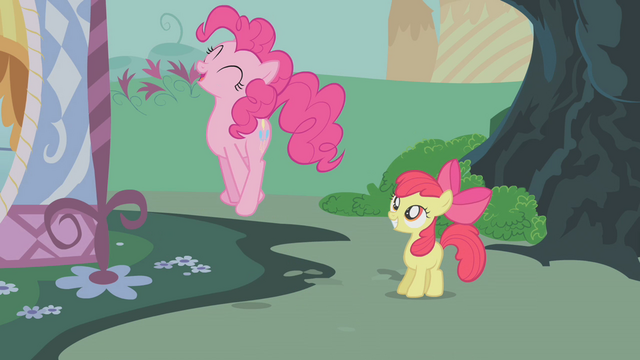 File:Pinkie Pie jumps high S1E12.png