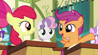 "Scootaloo ""I know just the pony to ask"" S6E14"