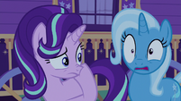 Starlight Glimmer rubbing her nose S6E25