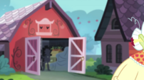 View of Applejack's garage EG2