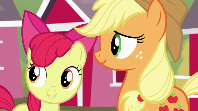"File:Apple Bloom ""Right, Big Mac?"" S5E17.png"