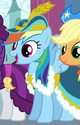 Rainbow Dash coronation dress ID S3E13