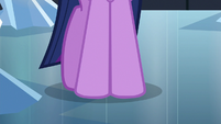 Close-up of Twilight Sparkle's hooves S6E16
