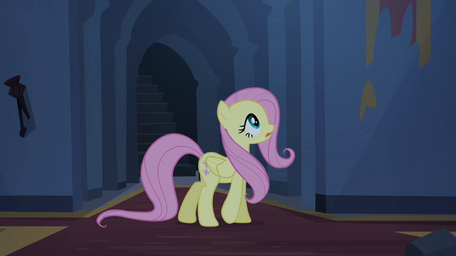 File:Fluttershy calls out for Angel S4E03.png