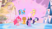 Main ponies Activating the Elements S2E2