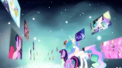 My Little Pony A Amizade é Mágica - Canção - Ballad da Celestia