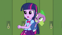 "Twilight and Spike ""do some research"" EG"