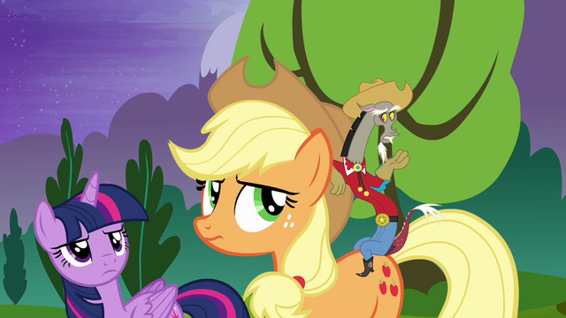 File:Discord dressed as a cowboy S4E02.png