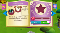 Featherweight album page MLP mobile game