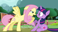 Fluttershy being protective S3E05