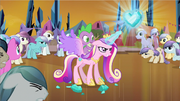 Princess Cadance crystal heart S3E2