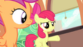 "Apple Bloom ""don't you listen to her music?"" S4E19.png"