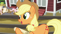 """Applejack """"I should go over it with you"""" S6E10"""