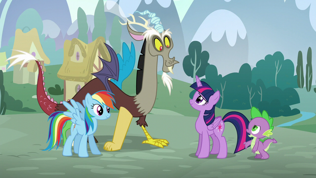 """File:Spike """"Did you rehearse before you found us?"""" S5E22.png"""