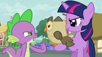 """Spike and Owlowiscious """"you know 'hoo'"""" S03E11"""