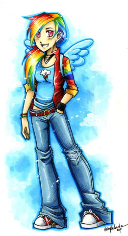 File:FANMADE Rainbow Dash by valen larae.jpg