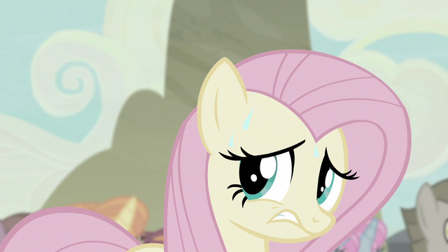 File:Fluttershy sweating S5E2.png