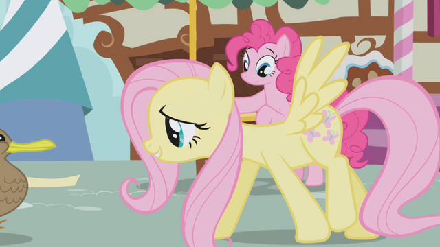 File:Pinkie Pie observes Fluttershy S1E05.png