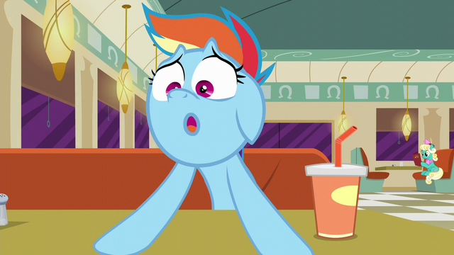 "File:Rainbow Dash overdramatic ""doomed!"" S6E9.png"