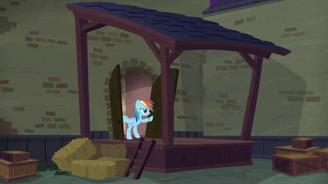 File:Rainbow enters convention hall alleyway S6E13.png