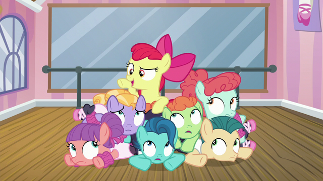 "File:Apple Bloom ""let's give it one more whirl"" S6E4.png"