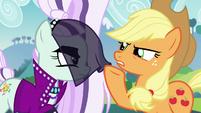 Applejack ruffles Countess Coloratura's veil S5E24