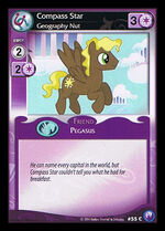 Compass Star, Geography Nut card MLP CCG