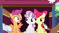 Scootaloo cute gasp S3E11
