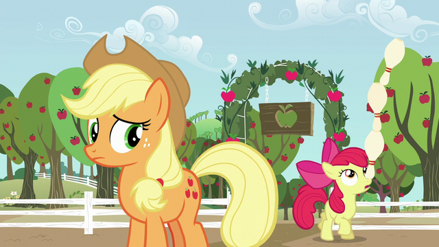 File:Apple Bloom balances a tower of bowling pins on her nose S5E17.png