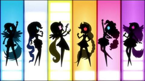 German Equestria Girls Rainbow Rocks Theme Song HD