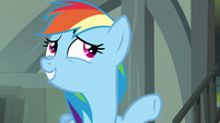 "Rainbow Dash ""I'd be worried about her, too"" S4E04"