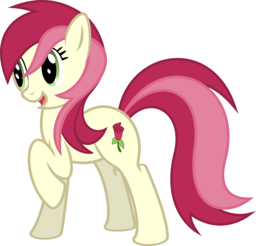 """File:FANMADE """"Rose in the limelight"""" by RainbowRage12.png"""