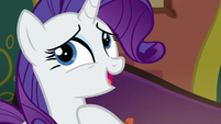 "Rarity ""only time she could make herself available"" S6E12"