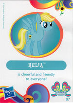 Wave 11 Helia collector card