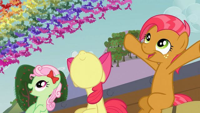 File:Apple Bloom and Babs wowza S03E08.png
