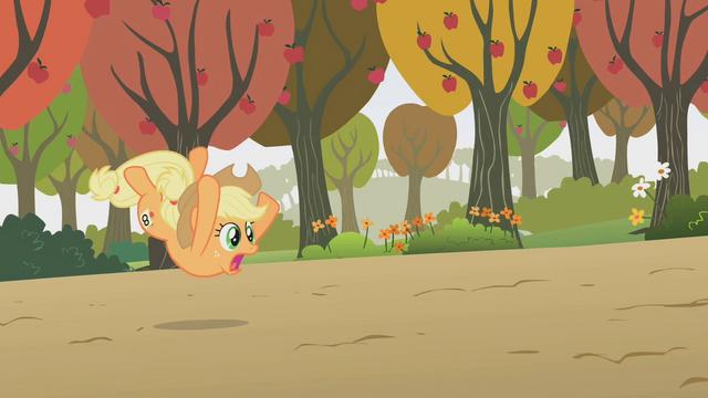 File:Applejack falling S01E13.png