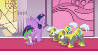 "Twilight and royal guards ""continue the search"" S4E01"