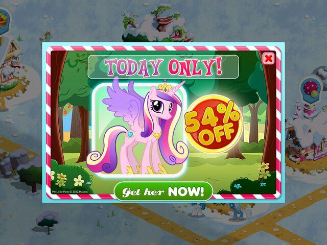 File:Princess Cadance MLP game promo.jpg