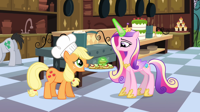 File:Princess Cadance checking on the catering S02E25.png