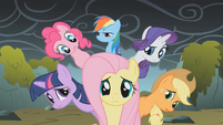 All eyes on Fluttershy S1E7