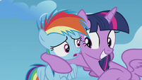 Filly Rainbow Dash nervous S5E25