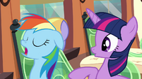 Rainbow 'Nothing nice about it' S4E10