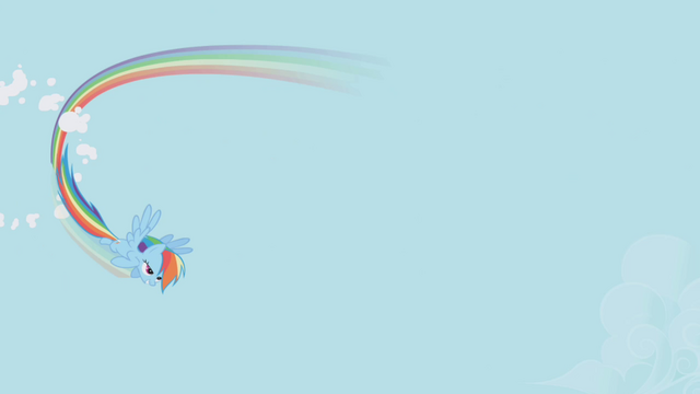 File:Rainbow Dash flying through a cloud S1E3.png