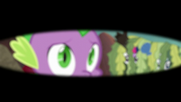 Spike in armored dragon's blurry eyesight S6E5