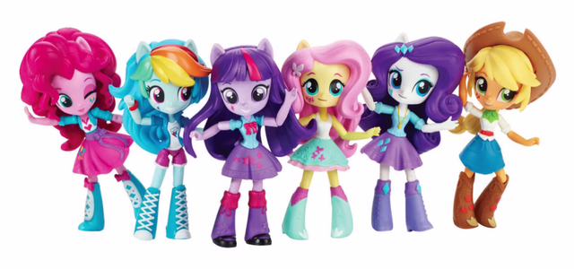 File:Equestria Girls Minis Mane Six lineup.png