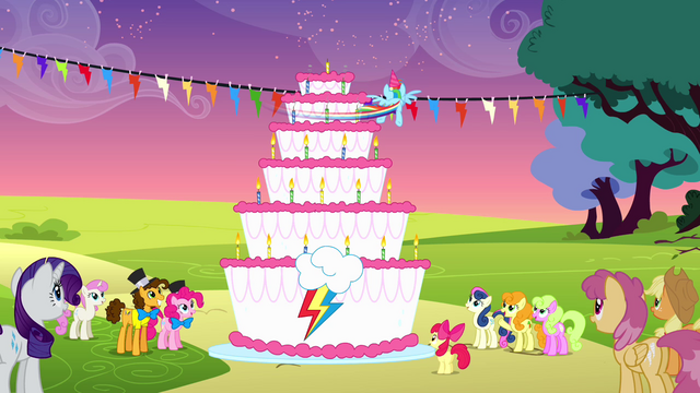 File:Rainbow spinning around the cake to blow all the candles S4E12.png