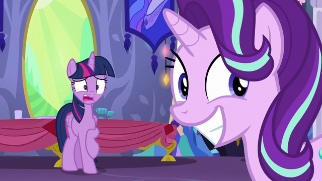 File:Twilight shocked; Starlight thrilled S6E6.png